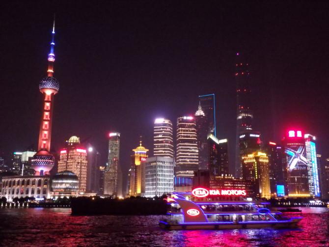 上海 南京東路 夜景