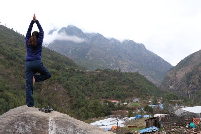 ネパール ルクラ 山田②