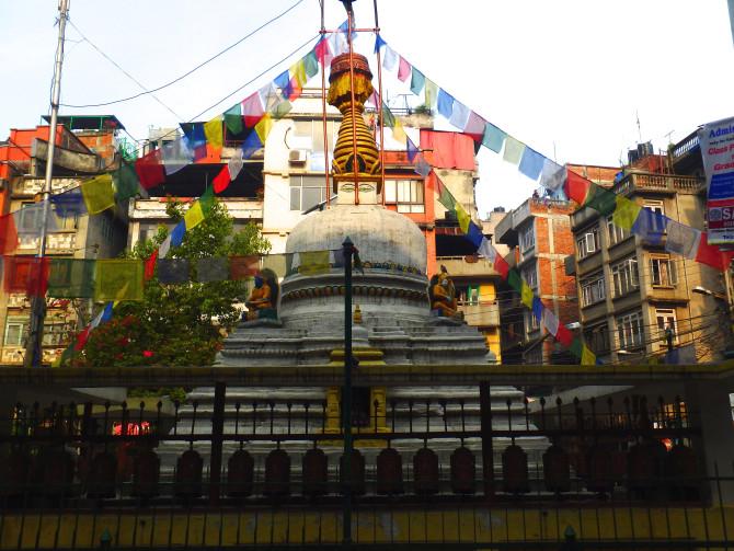 ネパール カトマンズ 寺