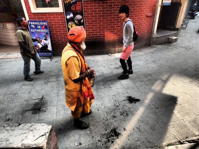 ネパール カトマンズ 少年②