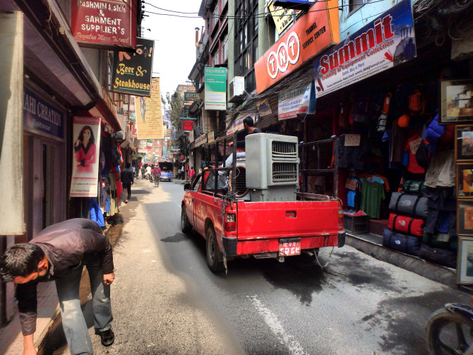ネパール カトマンズ 街