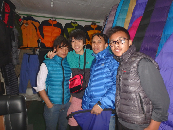 ネパール カトマンズ 店③