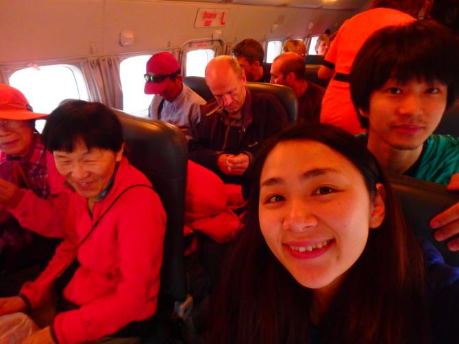 ネパール カトマンズ 飛行機