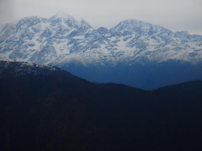 ネパール ルクラ 山
