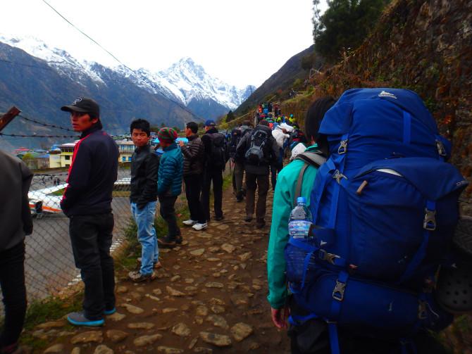 ネパール パクディン 荷物