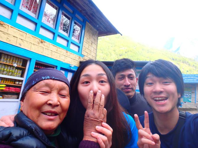ネパール パクディン 母