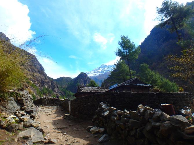 ネパール パクディン 景色