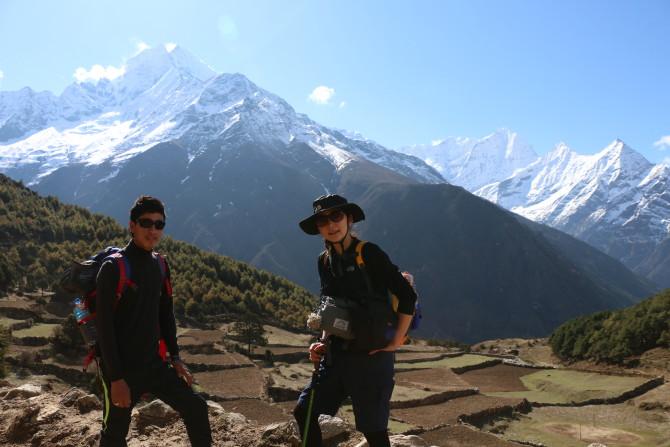 ネパール ナムチェ 山田さん&ラムさん