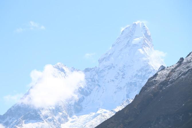 ネパール ナムチェ 山①