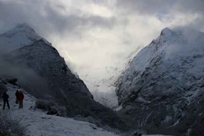 ネパール タンボチェ 山②