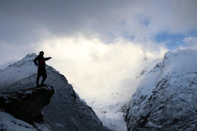 ネパール タンボチェ 山③