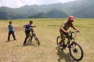 ネパール ポカラ 自転車①