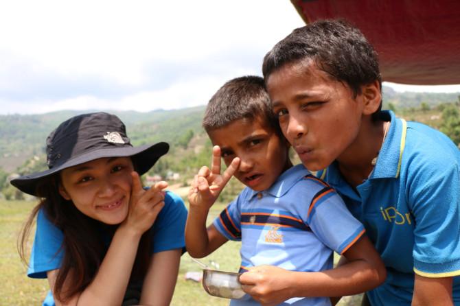 ネパール ポカラ 少年②
