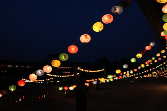ネパール ルンビニ 夜②