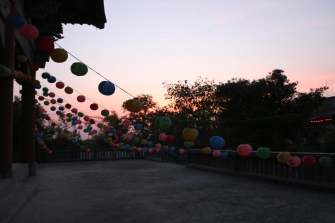 ネパール ルンビニ 夜①