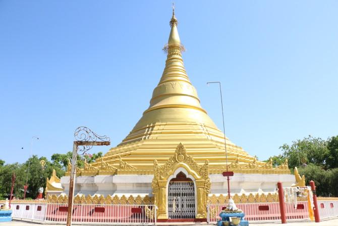 ネパール ルンビニ ミャンマー寺
