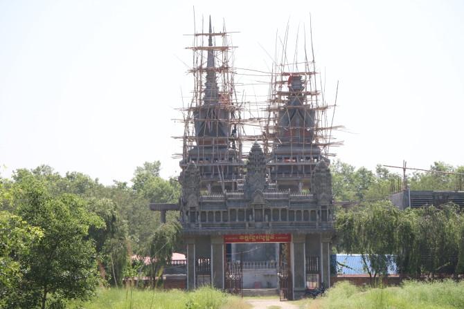 ネパール ルンビニ カンボジア寺