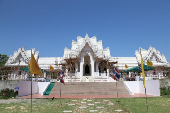 ネパール ルンビニ タイ寺
