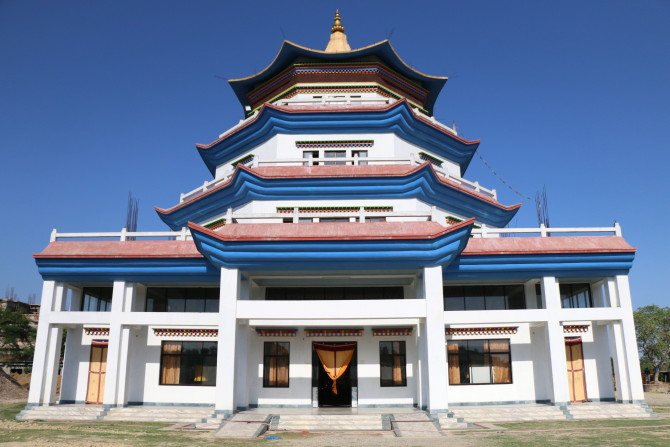 ネパール ルンビニ フランス寺