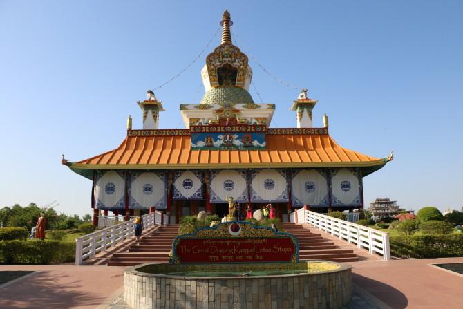 ネパール ルンビニ ドイツ寺