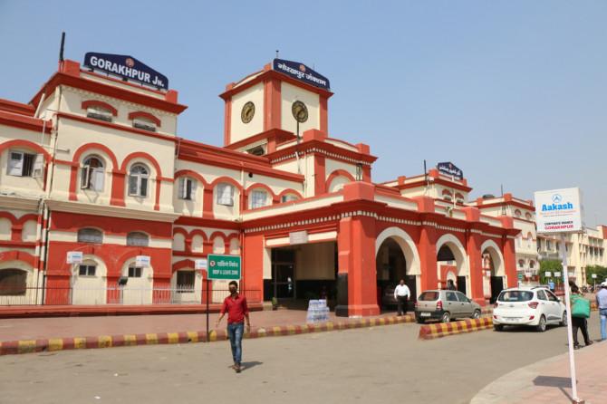 インド ゴラクプル 駅