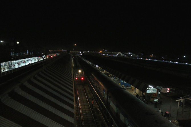 インド ゴラクプル 駅②
