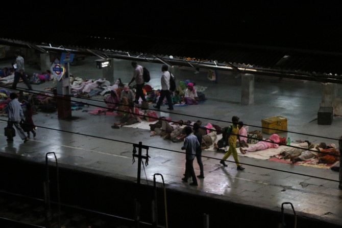 インド ゴラクプル 駅③
