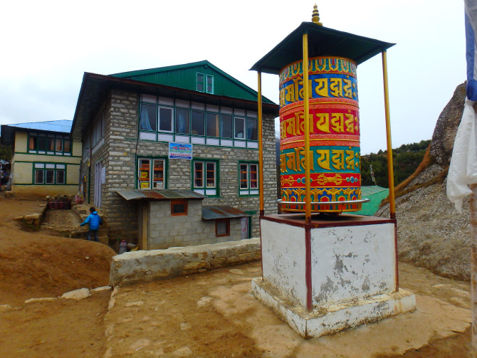 ネパール ナムチェ 建物
