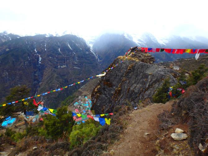 ネパール ナムチェ 旗