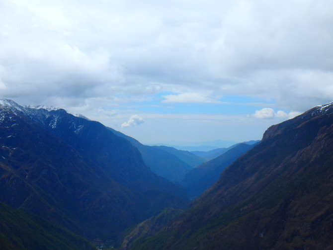 ネパール ナムチェ 景色