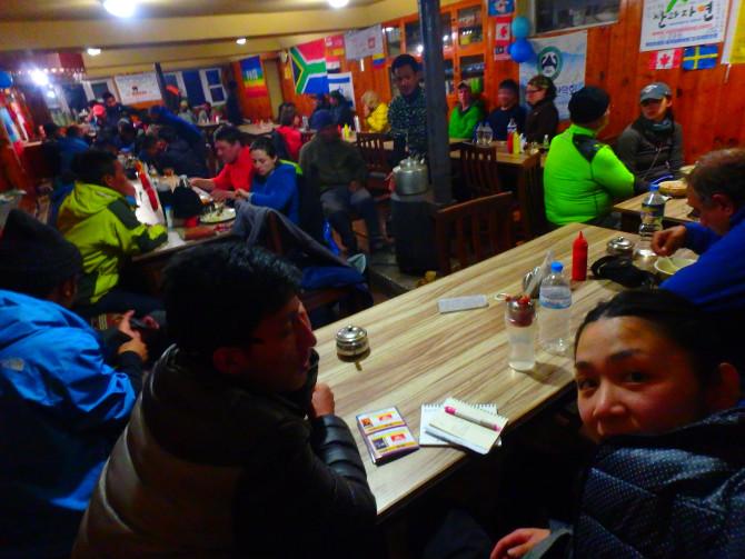 ネパール タンボチェ 宿③