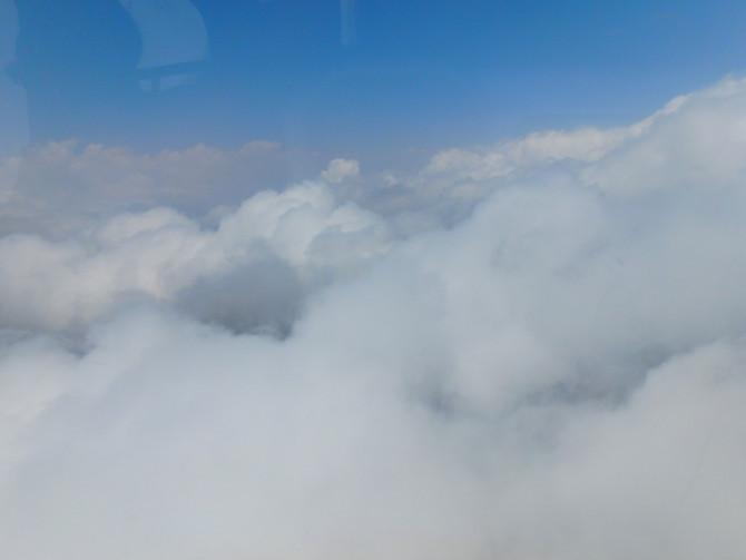 ネパール ルクラ 雲