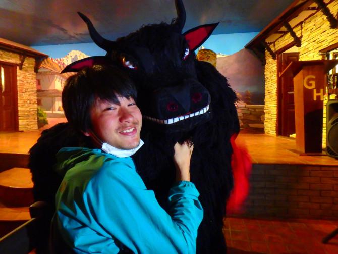 ネパール カトマンズ 牛①