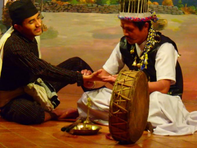 ネパール カトマンズ 劇