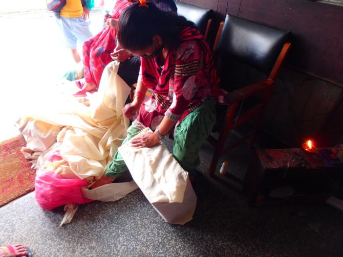 ネパール カトマンズ 郵便③
