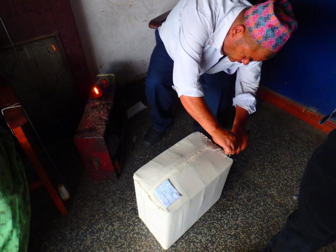 ネパール カトマンズ 郵便④