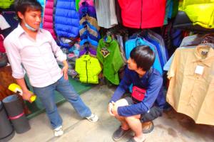 ネパール カトマンズ 少年①