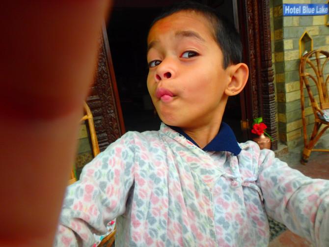 ネパール ポカラ 子供②