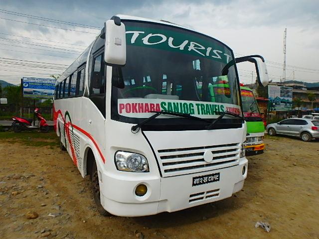ネパール ポカラ バス②