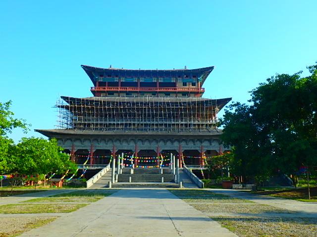 ネパール ルンビニ 韓国寺