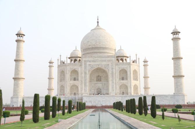 インド アグラ タージマハル④