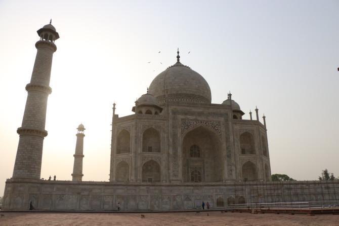 インド アグラ タージマハル⑤