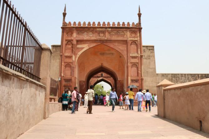 インド アグラ アグラ城塞①