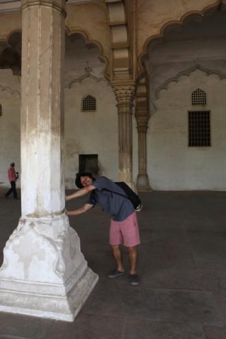 インド アグラ 支柱①