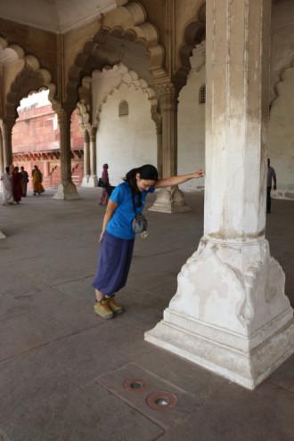 インド アグラ 支柱②