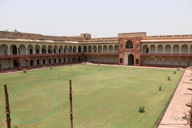 インド アグラ アグラ城塞④