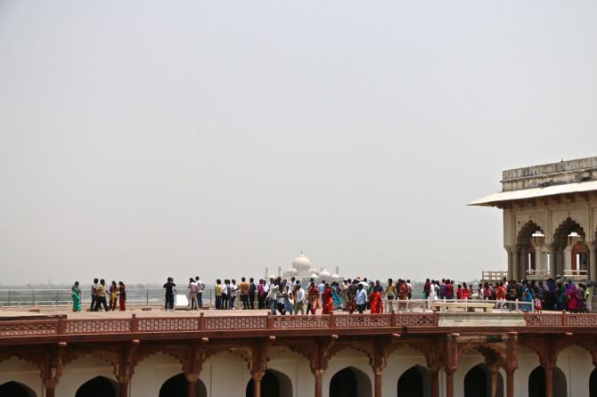 インド アグラ アグラ城塞⑦