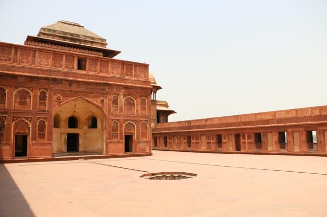 インド アグラ アグラ城塞⑧
