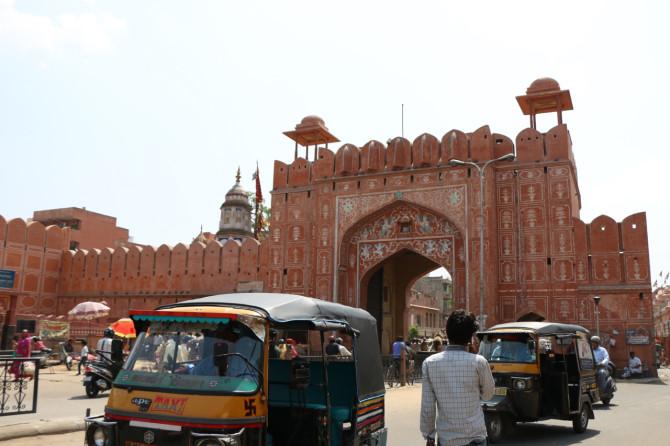 インド ジャイプル 門