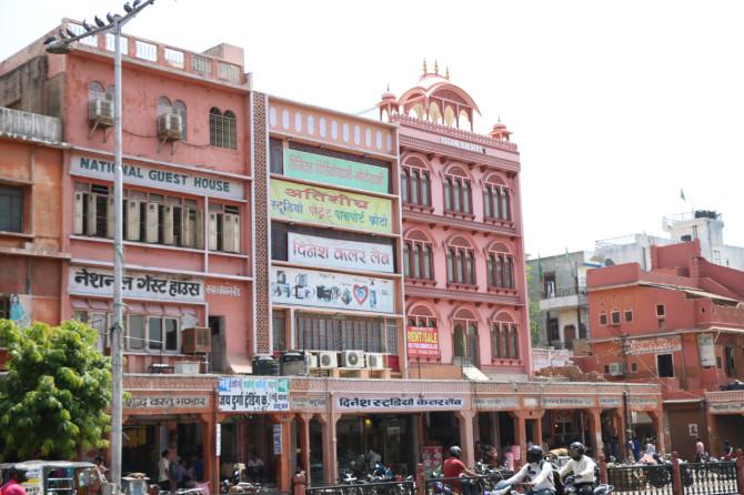 インド ジャイプル 建物